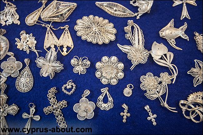 Кипр кружево и серебро